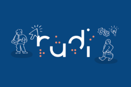 illustration logo RUDI